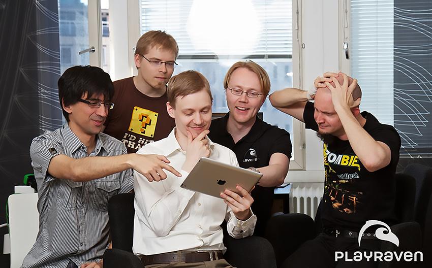 Perustajatiimi vasemmalta: Tiago Amorim Rocha, Teemu Haila, Jarkko Kainulainen, Lasse Seppänen ja Kalle Marjola.